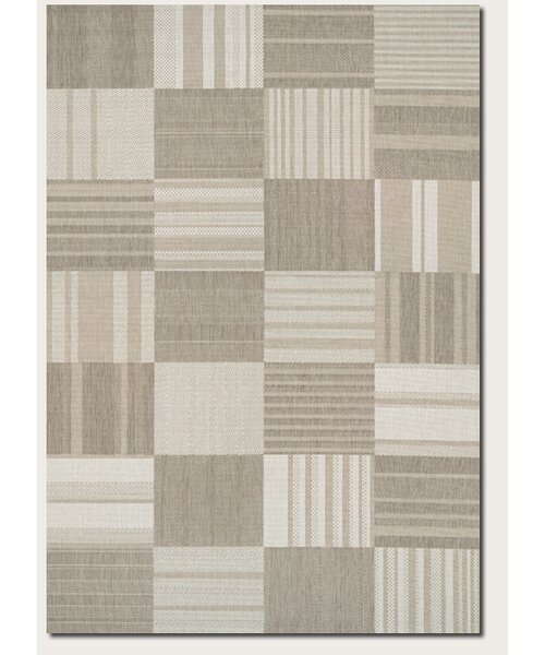 Marche Beige/Ivory Indoor/Outdoor Area Rug by August Grove