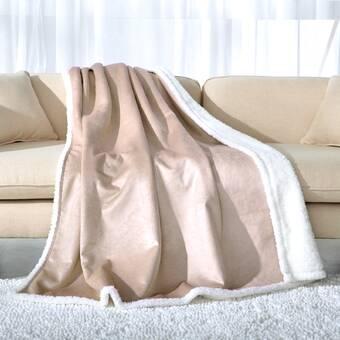 Breakwater Bay Serefina Fleece Blanket Wayfair