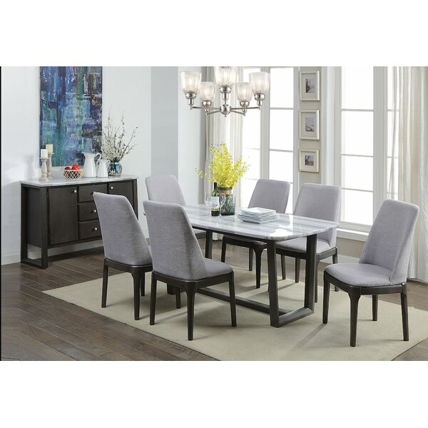 Henrietta 7 Pieces Dining Set by Brayden Studio