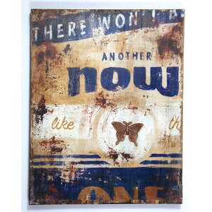 'Another Now' Graphic Art Print on Wood by Red Barrel Studio