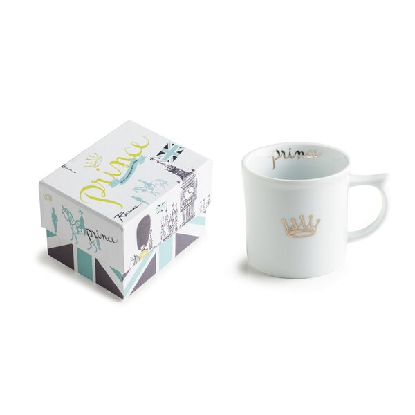 Royal Tea Party Prince 6 oz. Mug by Rosanna