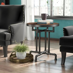 Dudek Industrial End Table ByWilliston Forge