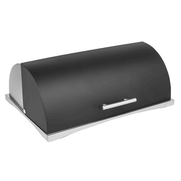 Stainless Steel Bread Box by Home Basics