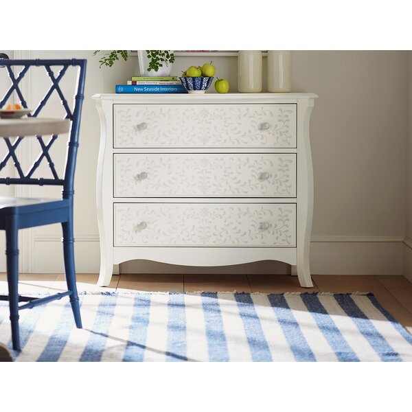 Stenciled 3 Drawer Dresser by YoungHouseLove