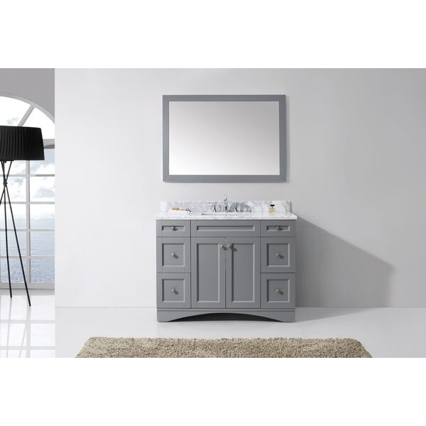 Borough Park 48 Single Bathroom Vanity Set with Mirror by Brayden Studio