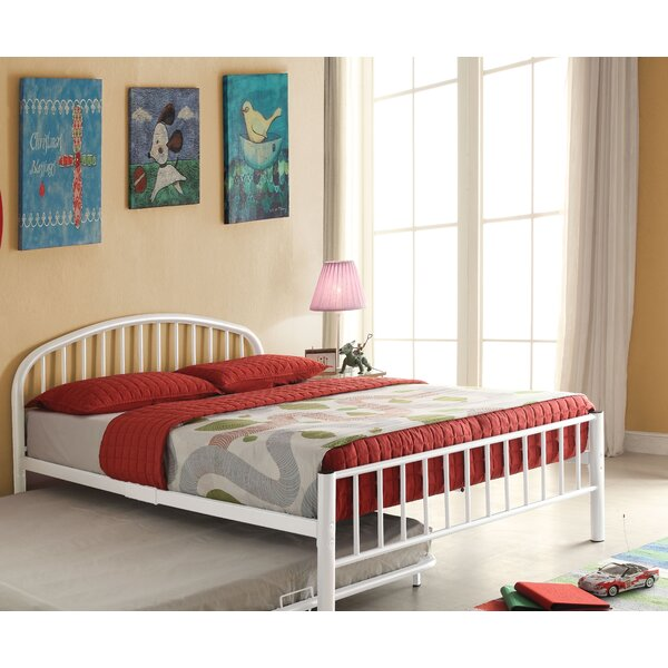 #2 Dichiera Metal Full Platform Bed By Harriet Bee Cool
