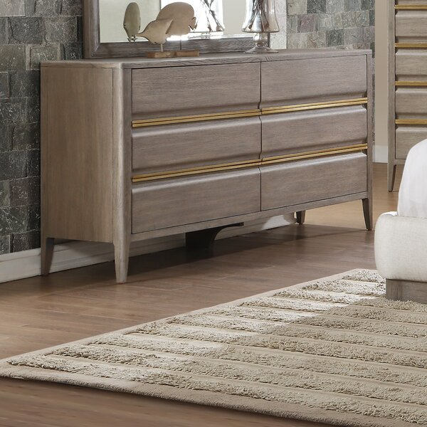 Mcchesney 6 Drawer Dresser by Wrought Studio