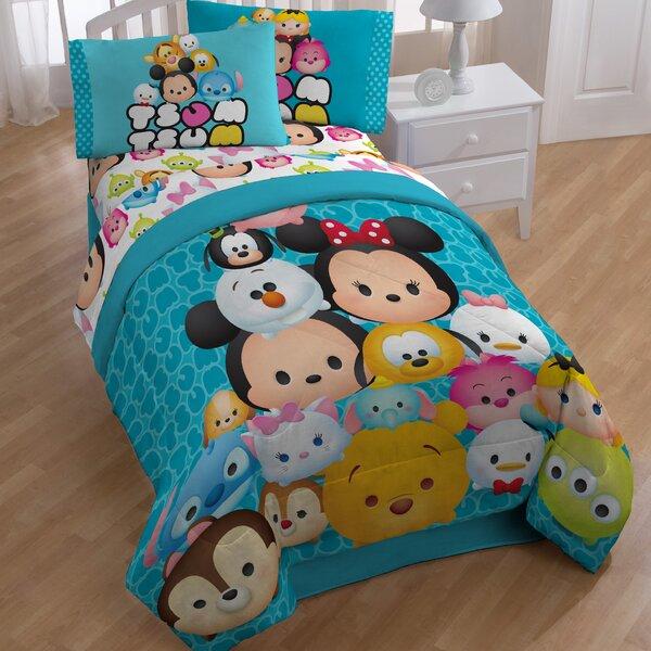 Tsum Tsum Mashup Reversible Comforter by Disney