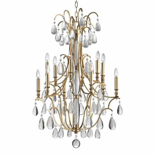 Grandidier 12-Light Candle Style Empire Chandelier By House Of Hampton