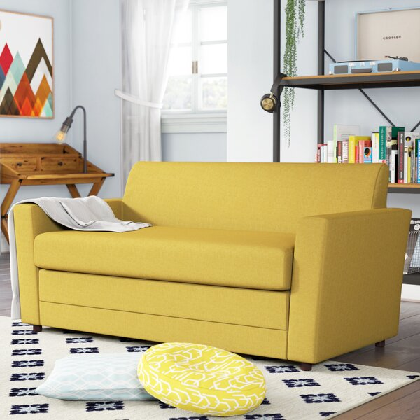 Modern Brand Bailey Sleeper Loveseat by Trule Teen by Trule Teen