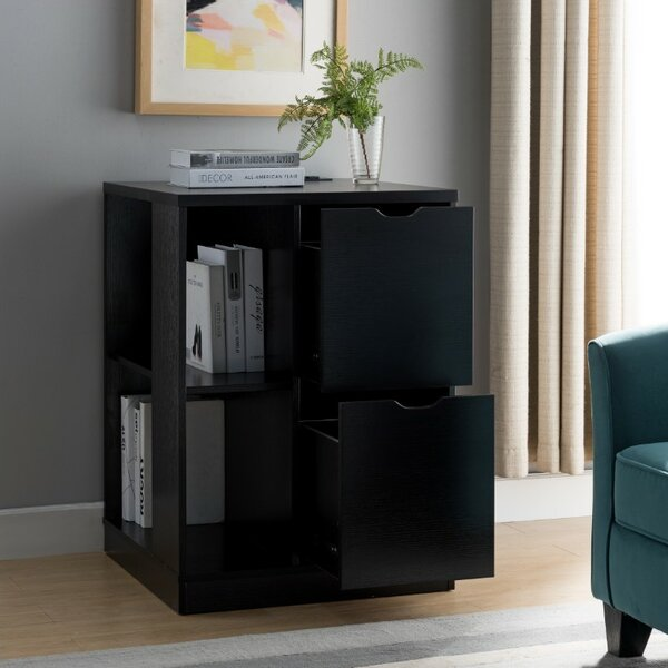 Dewitt 2-Drawer Mobile Vertical Filing Cabinet by Rebrilliant