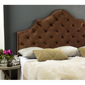 Christophe Cotton Upholstered Panel Headboard by Willa Arlo Interiors