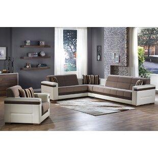 Vicaro 2 Piece Sleeper Living Room Set by Orren Ellis