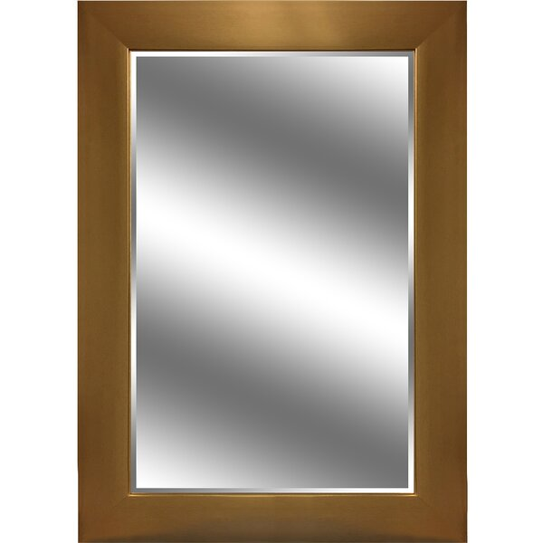 Younts Reflection Bevel Wall Mirror by Orren Ellis
