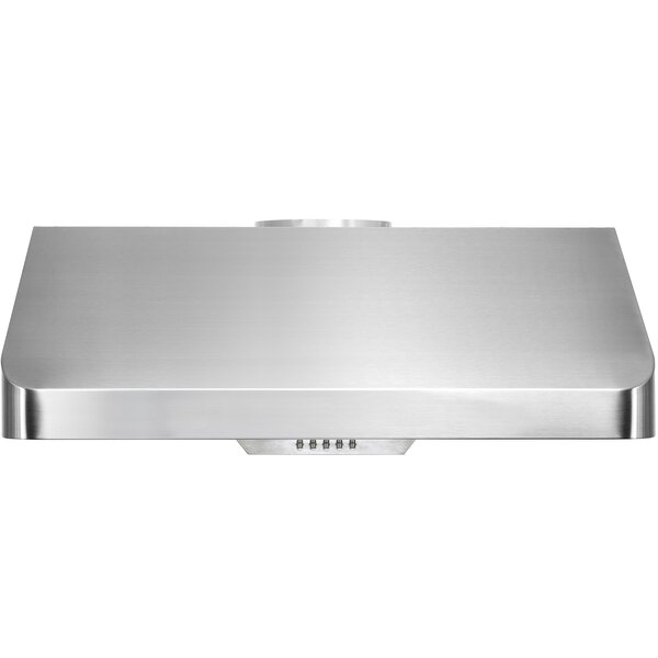 35.5 500 CFM Ducted Under Cabinet Range Hood by AK