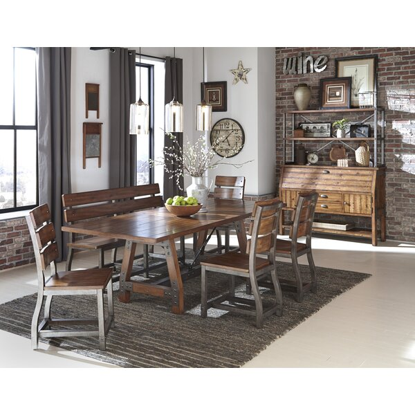 Liam Extendable Dining Table by Millwood Pines Millwood Pines