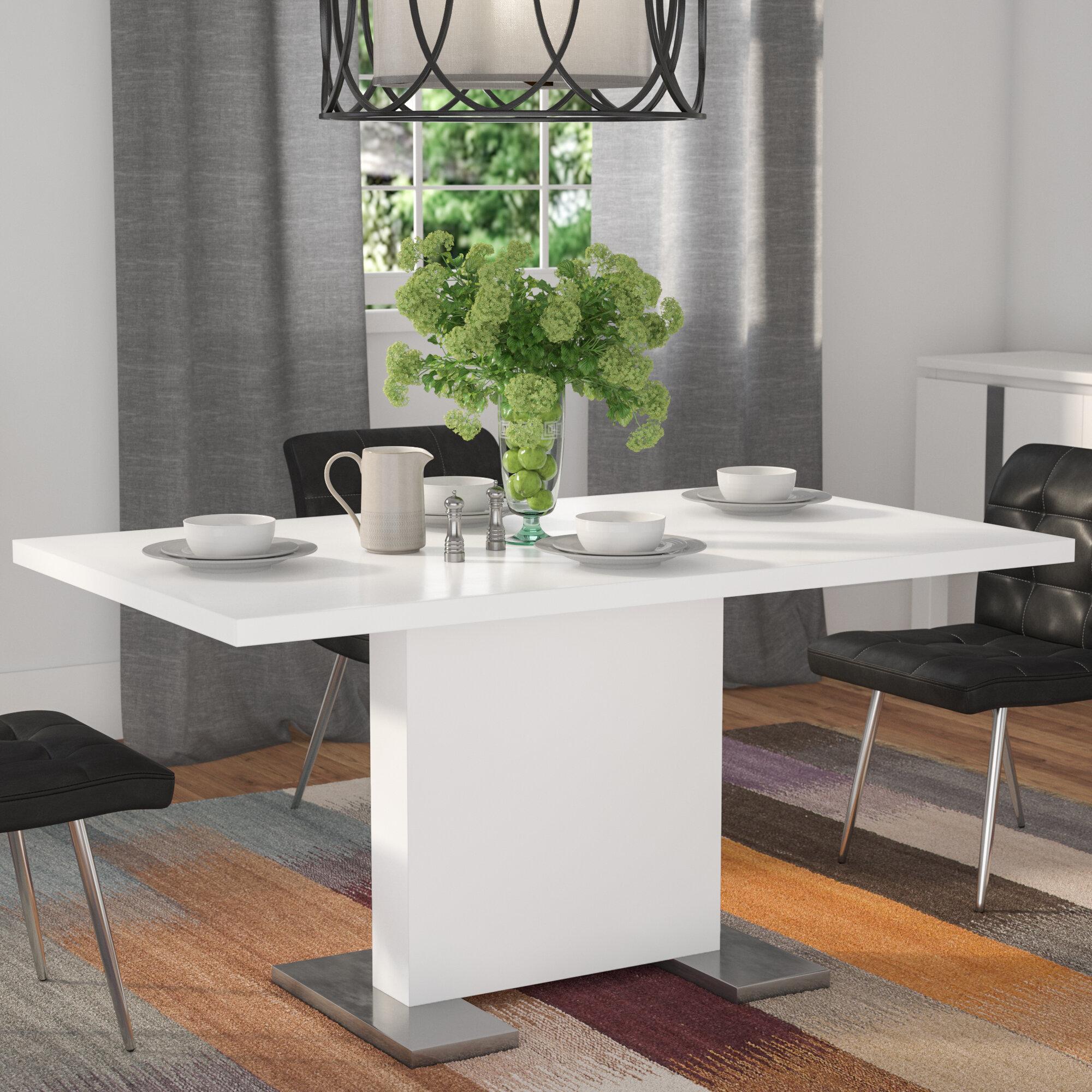 Latitude Run Moorhead Dining Table Reviews Wayfair