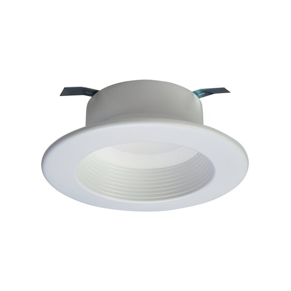 Integrated LED 4 Stepped Baffle Recessed Trim by Halo