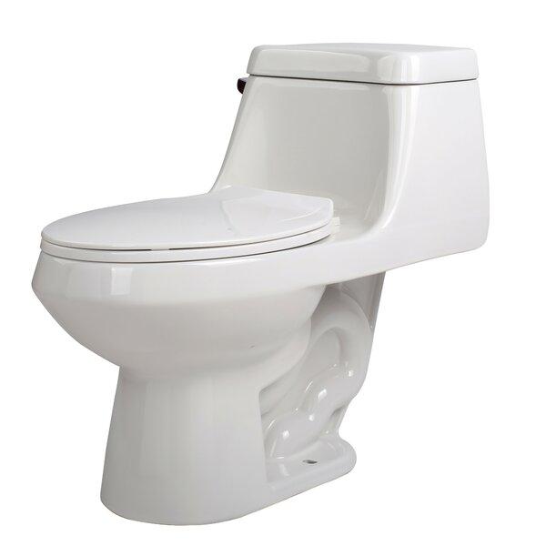 Zeus 1.28 GPF Elongated One-Piece Toilet by ANZZI