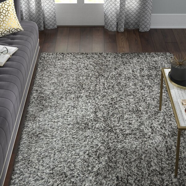 Kater Platinum/Ivory Area Rug by Willa Arlo Interiors