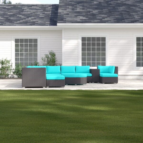 Tegan 11 Piece Sectional Seating Group with Cushions