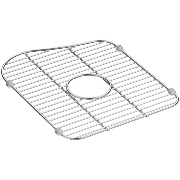 Staccato Stainless Steel Large Sink Rack for Left-Hand Bowl by Kohler