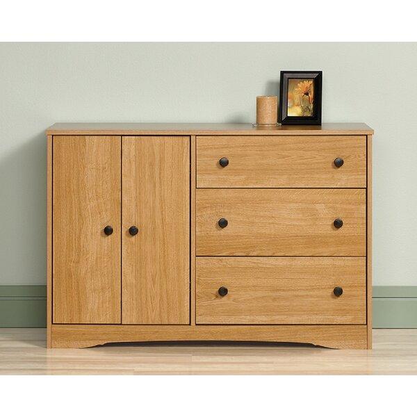 Downley 3 Drawer Combo Dresser by Ebern Designs