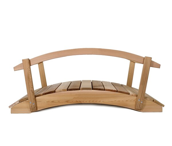 Garden Bridge with Rails by All Things Cedar