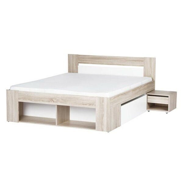 Duren Queen Storage Platform Bed with Mattress by Ivy Bronx