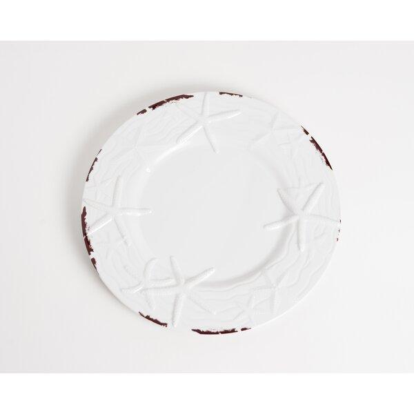 Winterton 9 Melamine Salad/Dessert Plate (Set of 6) by Beachcrest Home