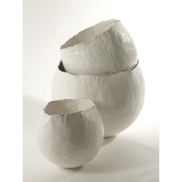 Esquibel Paper Bowl Table Vase by Bloomsbury Market
