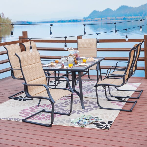 Ivar 7 Piece Dining Set by Charlton Home