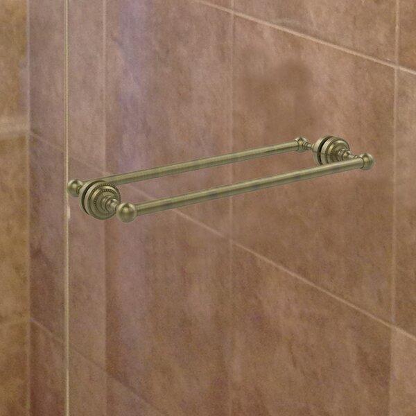 Dottingham Back Shower Door Wall Mounted Towel Bar by Allied Brass