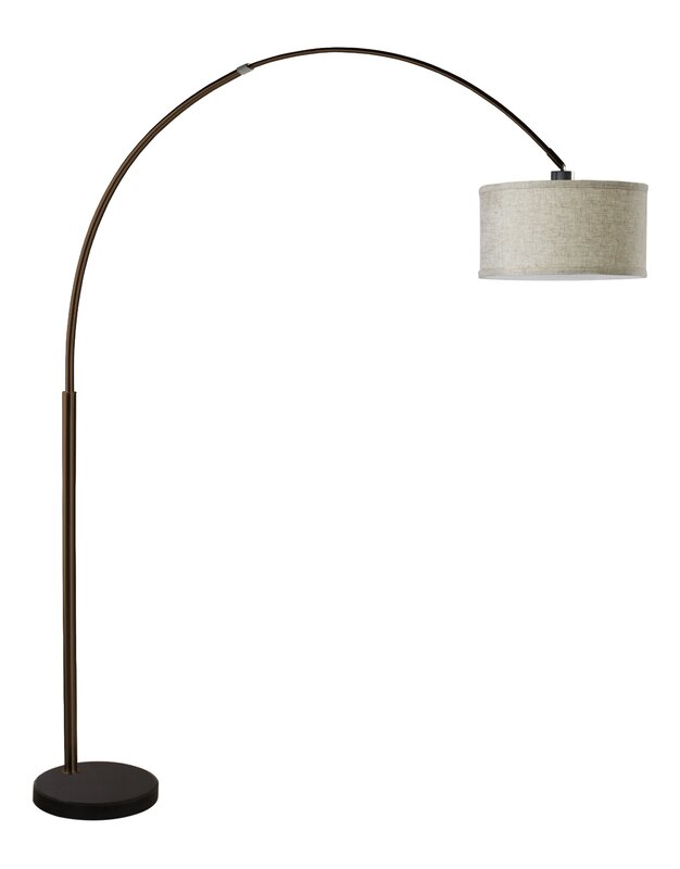 Maui 81 arched floor lamp