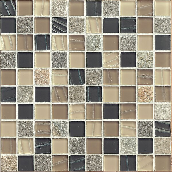 Queenstown 12 x 12 Stone Mosaic Tile in Wanaka by Grayson Martin