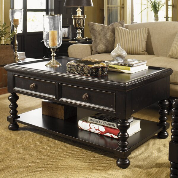 Kingstown Coffee Table with Storage by Tommy Bahama Home