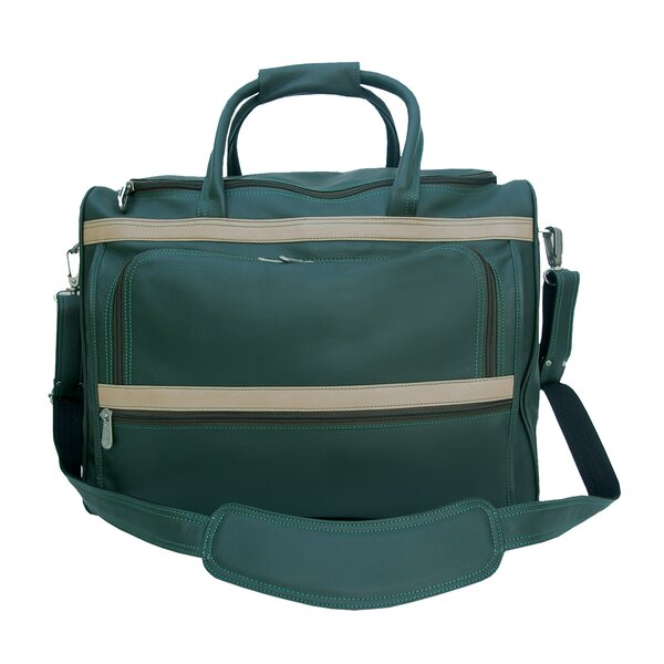 Traveler 17 Leather Carry-On Duffel by Piel Leather