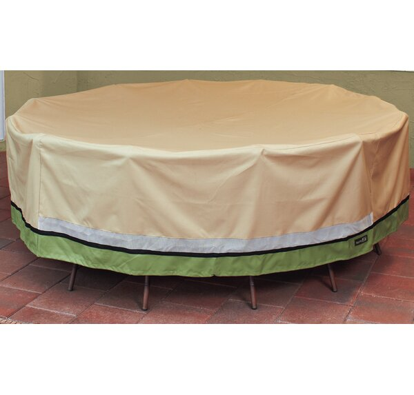 Round Dining Set Cover by Freeport Park
