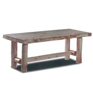 Pellston Log Coffee Table Loon Peak