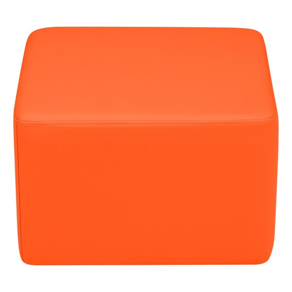 Kids Vinyl Cube Stool Soft Seating by Learniture