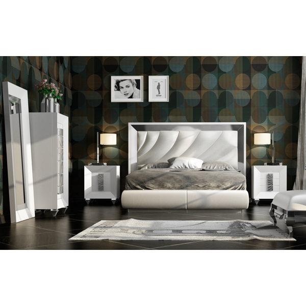 Jerri 5 Piece Standard Bedroom Set by Everly Quinn