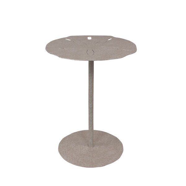 Ingleside Sand Dollar Top End Table by Highland Dunes