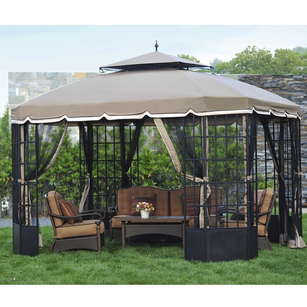 Replacement Mosquito Netting for Cambridge Gazebo by Sunjoy