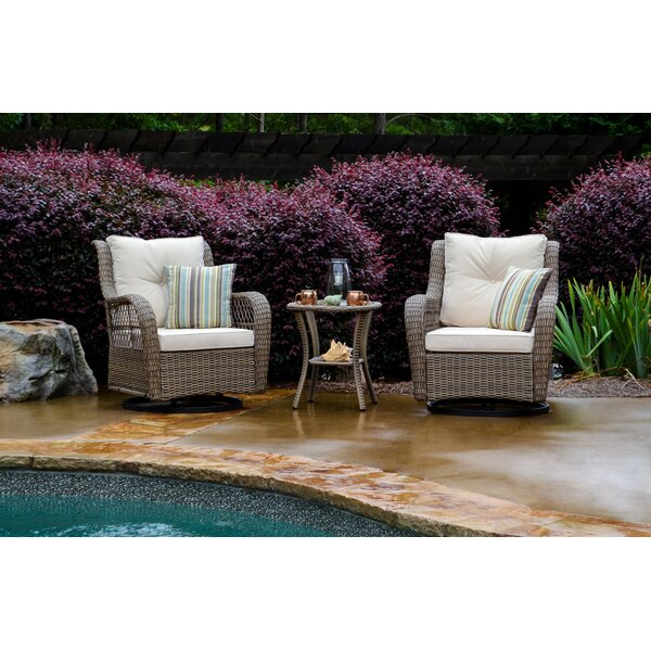 Lenita 3 Piece Seating Group With Cushions By August Grove