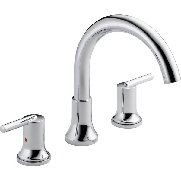 Trinsic® Double Handle Roman Tub Faucet Trim by Delta