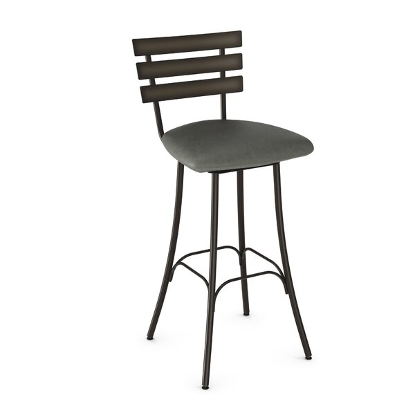 Bax 30.75 Swivel Bar Stool by Brayden Studio