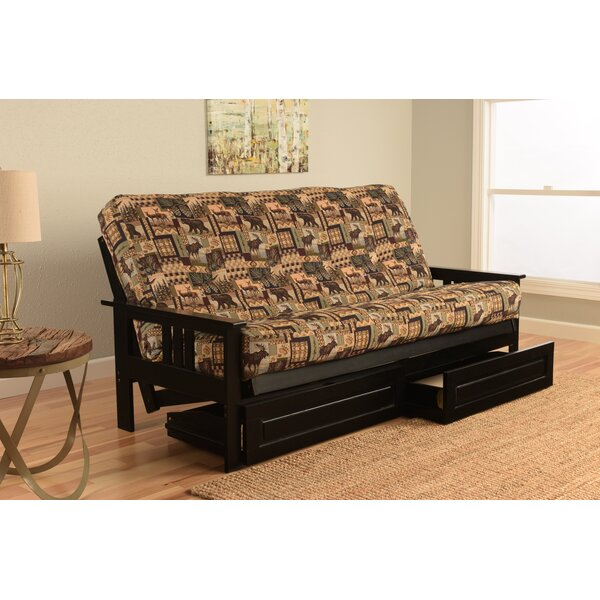Leavittsburg Full Loose Back Futon & Mattress