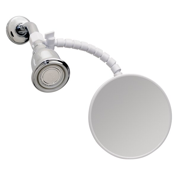 Fog Resistant Flex Shower Bathroom/Vanity Mirror by InterDesign