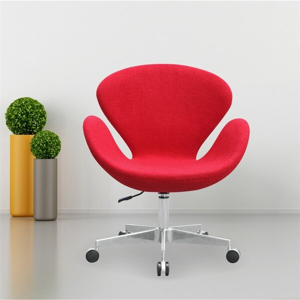 Swan Mid-Back Desk Chair by Fine Mod Imports