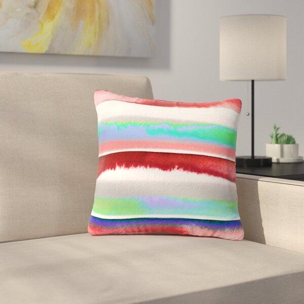 Ebi Emporium Prism Stripe 2 Outdoor Throw Pillow by East Urban Home